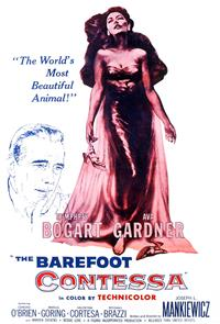 The Barefoot Contessa (1954) Poster