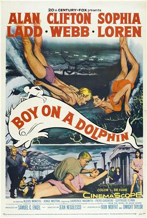 Boy on a Dolphin (1957) Poster