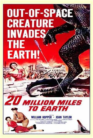 20 Million Miles to Earth (1957) 1080p Poster