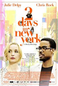 2 Days in New York (2012) 1080p Poster