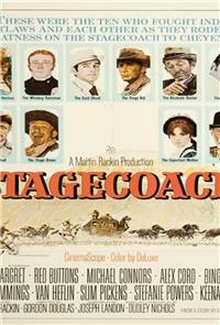 Stagecoach (1966) Poster