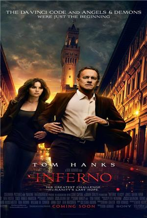 Inferno (2016) 1080p Poster