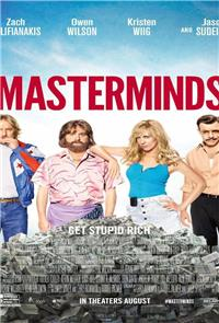 Masterminds (2016) 1080p Poster