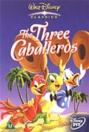 The Three Caballeros (1944) Poster
