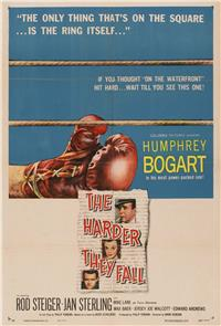 The Harder They Fall (1956) Poster