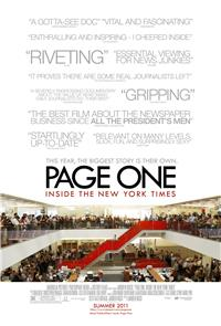 Page One: Inside the New York Times (2011) Poster