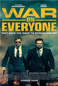 War on Everyone (2016) Poster