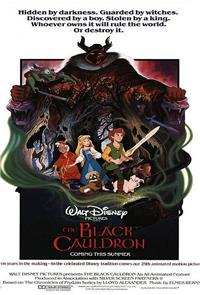 The Black Cauldron (1985) Poster