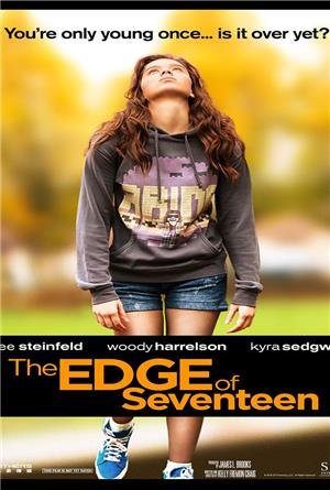 The Edge of Seventeen (2016) 1080p Poster
