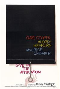 Love in the Afternoon (1957) Poster