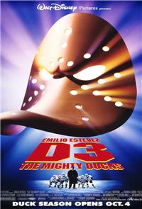 D3: The Mighty Ducks (1996) Poster