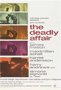 The Deadly Affair (1966) Poster