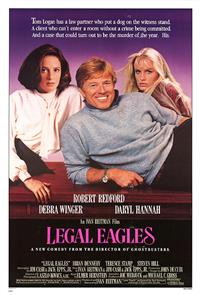 Legal Eagles (1986) Poster