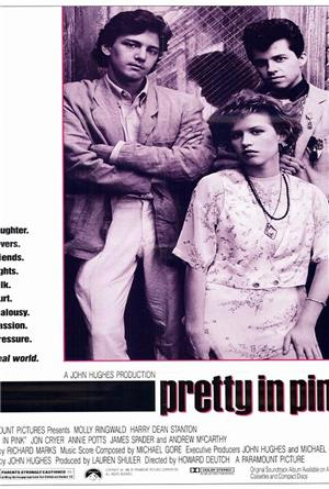 Pretty in Pink (1986) Poster