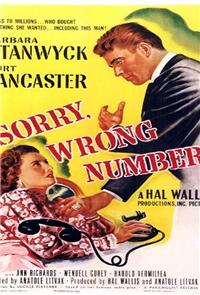 Sorry, Wrong Number (1948) Poster