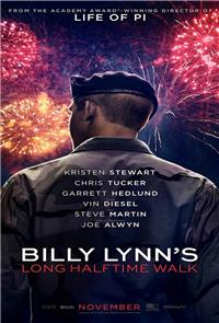 Billy Lynn's Long Halftime Walk (2016) 3D Poster