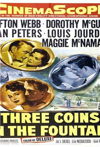 Three Coins in the Fountain (1954) Poster