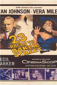 23 Paces to Baker Street (1956) Poster
