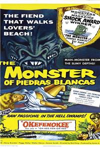 The Monster of Piedras Blancas (1959) poster