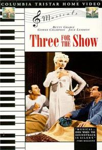 Three for the Show (1955) Poster