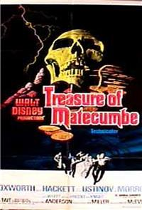 Treasure of Matecumbe (1976) Poster