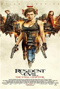 Resident Evil: The Final Chapter (2016) 1080p Poster