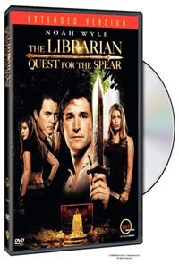 The Librarian: Quest for the Spear (2004) 1080p Poster