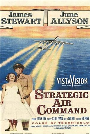 Strategic Air Command (1955) Poster