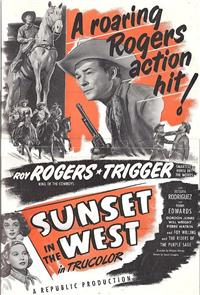 Sunset in the West (1950) Poster