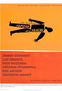 Anatomy of a Murder (1959) Poster