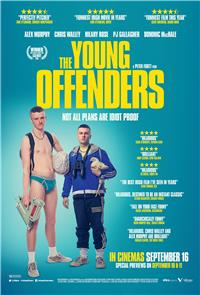 The Young Offenders (2016) poster