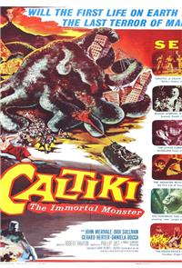 Caltiki, the Immortal Monster (1959) Poster