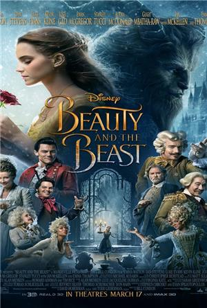 Beauty and the Beast (2017) 1080p Poster