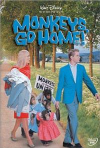 Monkeys, Go Home! (1967) Poster