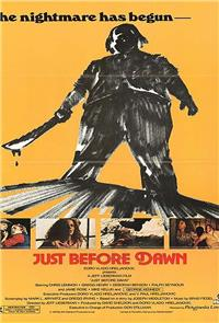 Just Before Dawn (1981) Poster