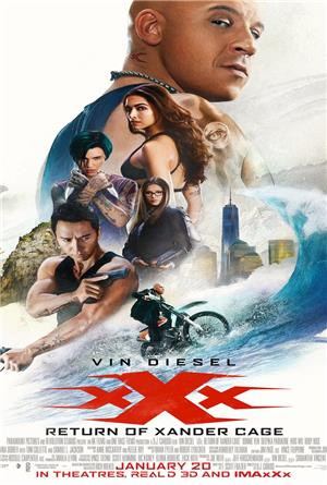 xXx: Return of Xander Cage (2017) 3D Poster