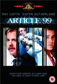 Article 99 (1992) Poster