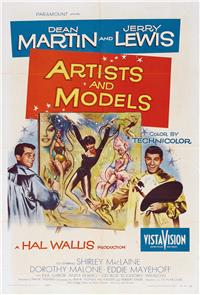 Artists and Models (1955) Poster