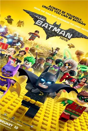 The Lego Batman Movie (2017) 3D Poster
