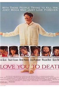 I Love You to Death (1990) Poster