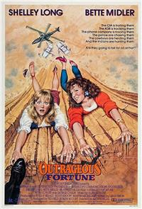 Outrageous Fortune (1987) Poster