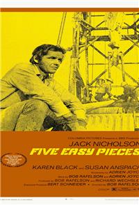 Five Easy Pieces (1970) 1080p Poster