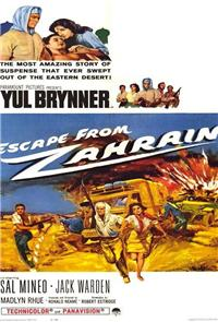 Escape From Zahrain (1962) Poster