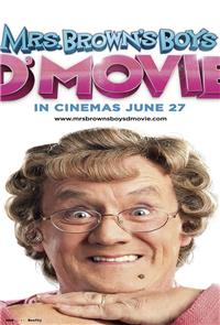 Mrs. Brown's Boys D'Movie (2014) 1080p Poster