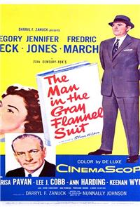 The Man in the Gray Flannel Suit (1956) Poster