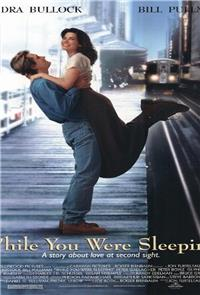 While You Were Sleeping (1995) Poster