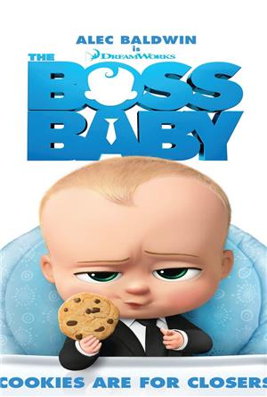 The Boss Baby (2017) 3D Poster