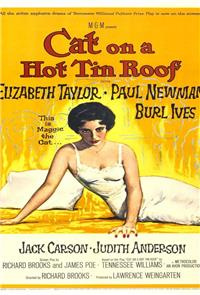 Cat on a Hot Tin Roof (1958) 1080p Poster