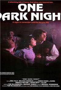 One Dark Night (1983) Poster