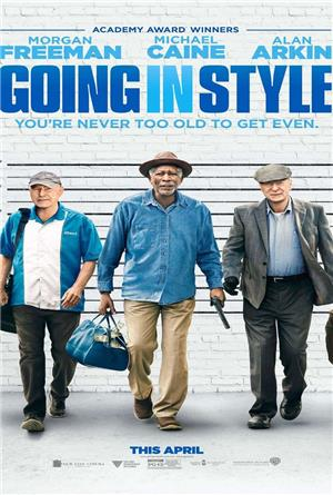Going in Style (2017) 1080p Poster